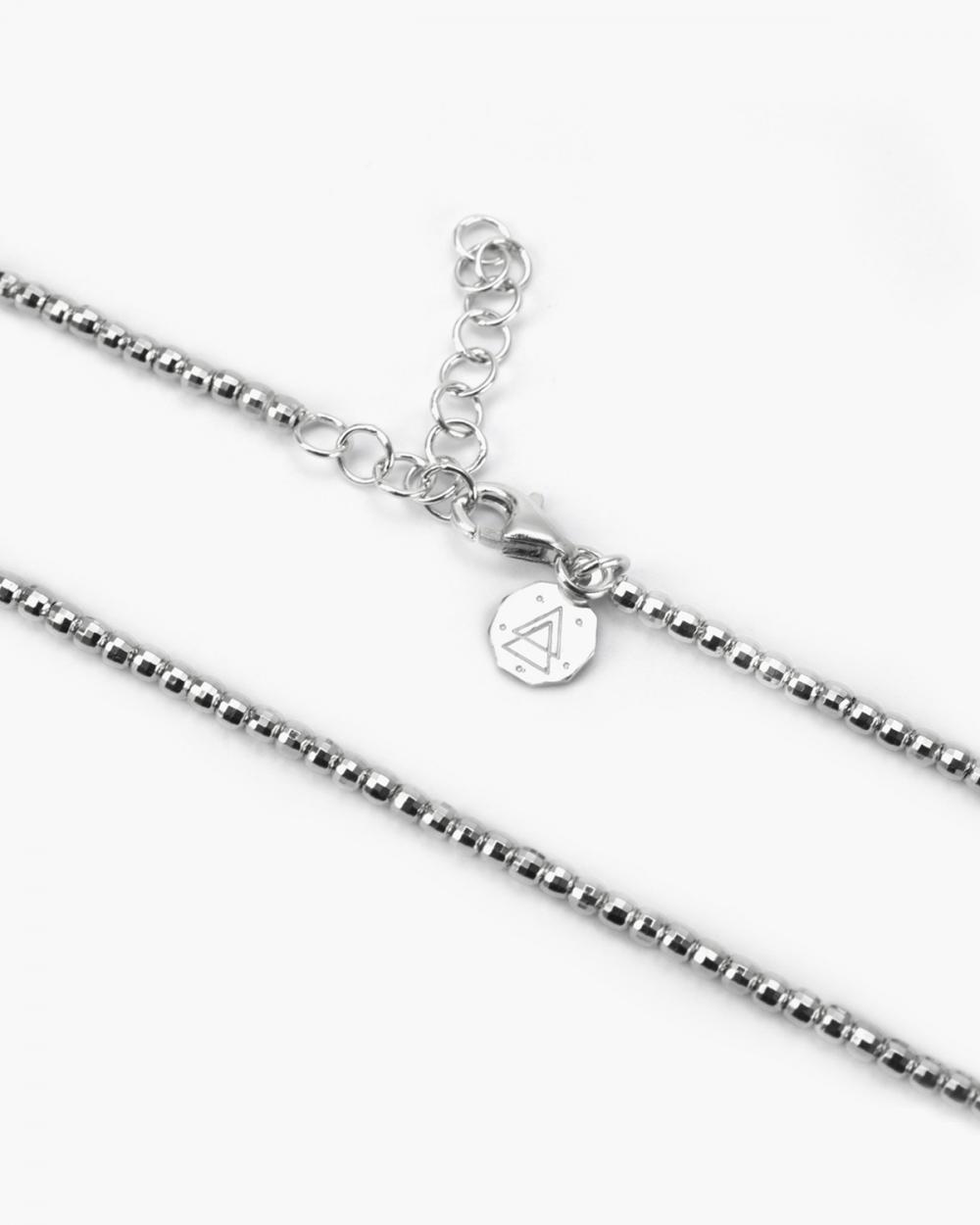 Necklaces SILVER DISCO NECKLACE NOVE25