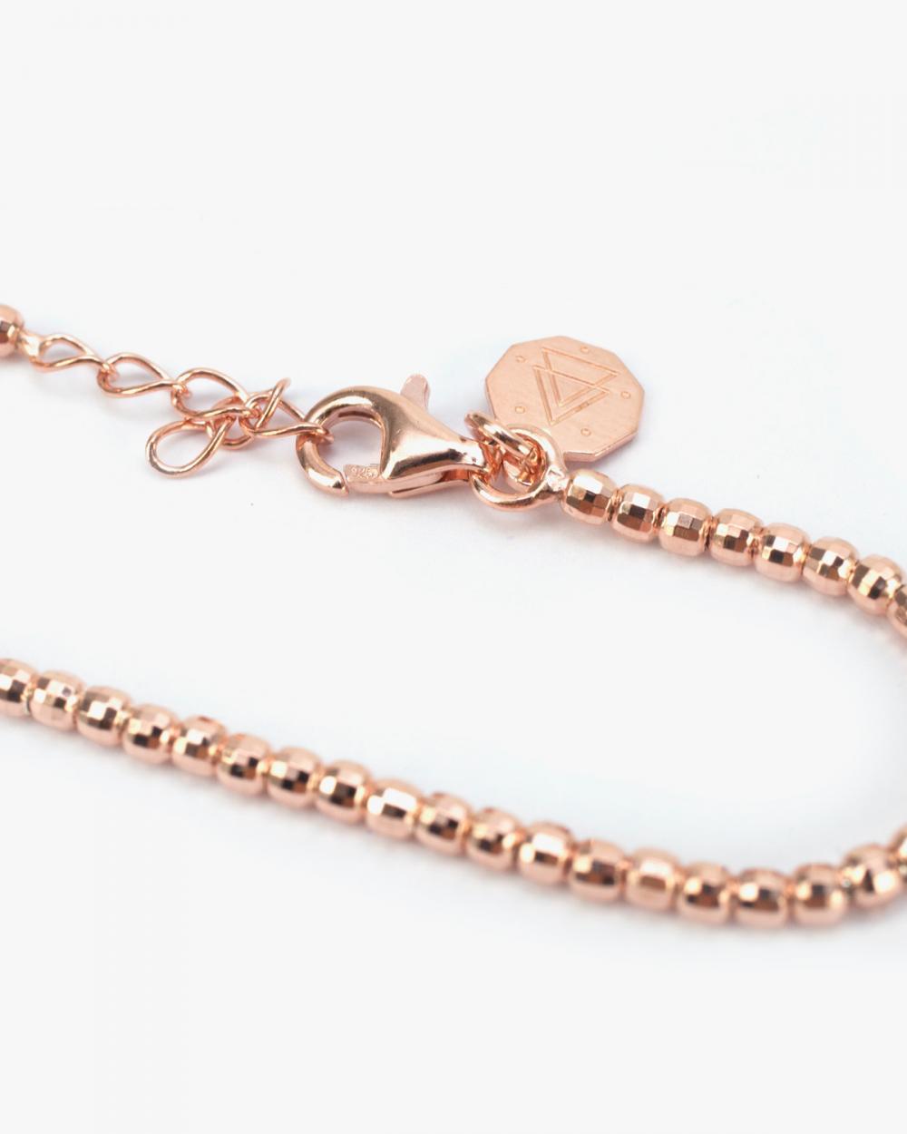Bracelets PINK GOLD DISCO BRACELET 300 NOVE25