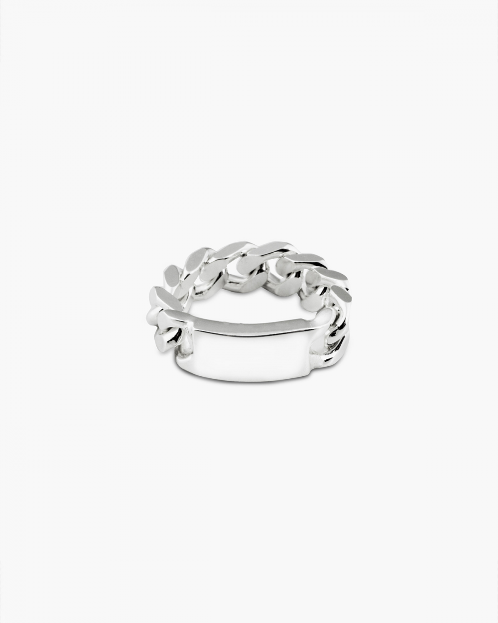 Archive Sale CURB RING WITH PLATE NOVE25
