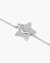 smiling star zircon bracelet