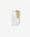pendente targa materic bianco