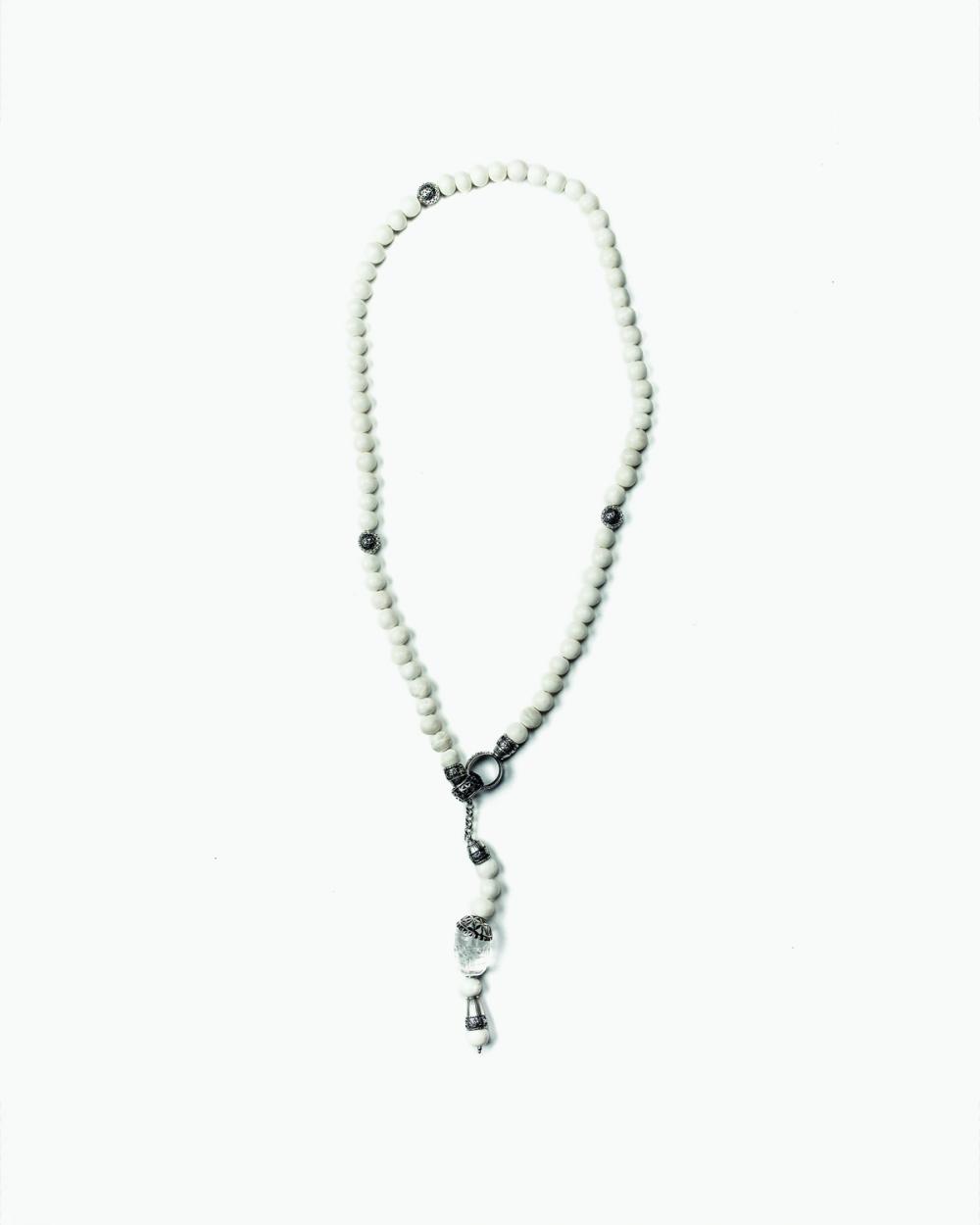 Necklaces WILD BONE ROSARY NOVE25