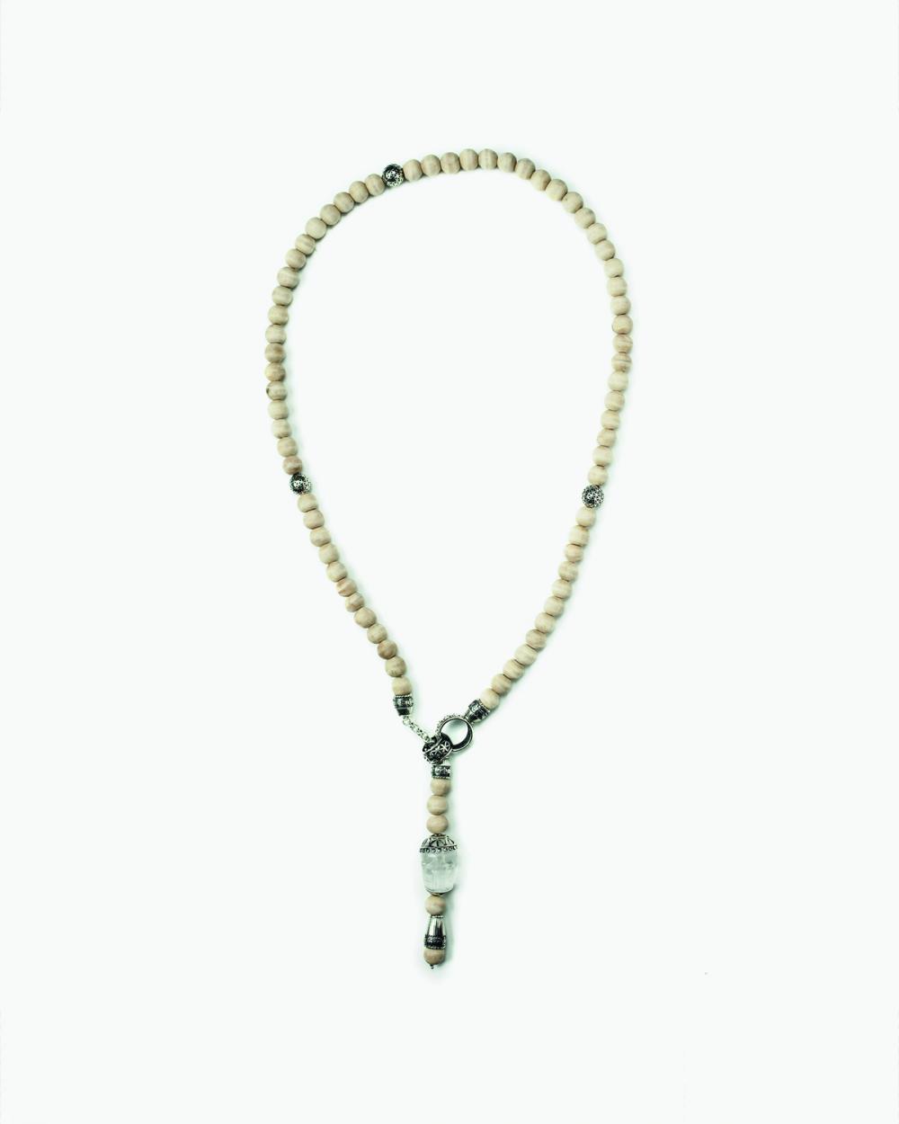 Necklaces WILD SANDALWOOD ROSARY NOVE25