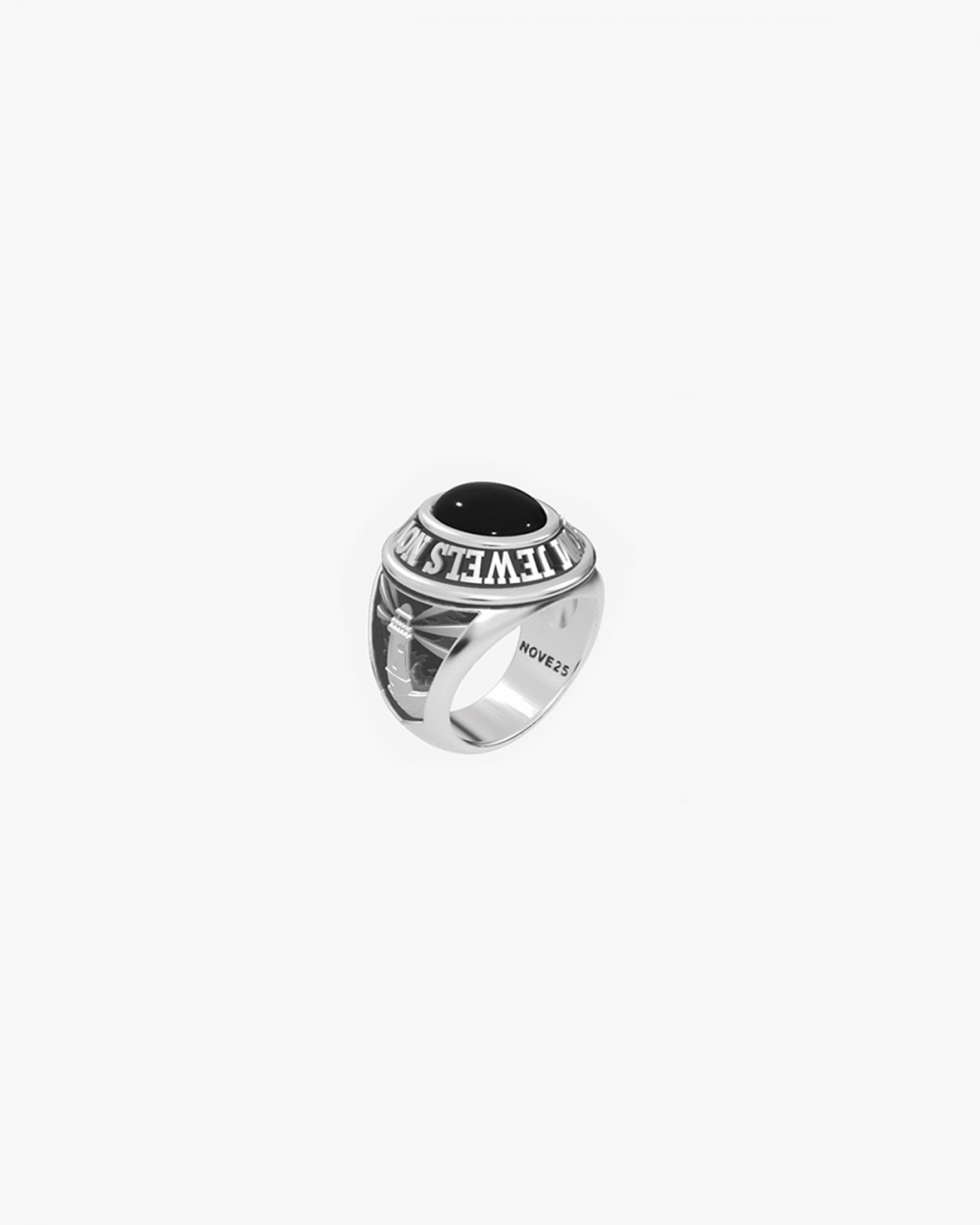 MYNOVE25 OVAL MINI CELEBRATION RING NOVE25