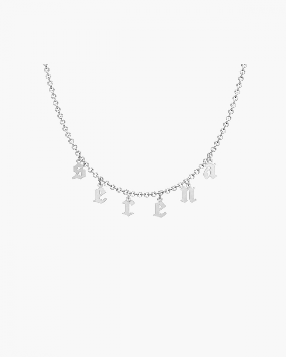 MYNOVE25 PENDANT LETTERS NECKLACE NOVE25