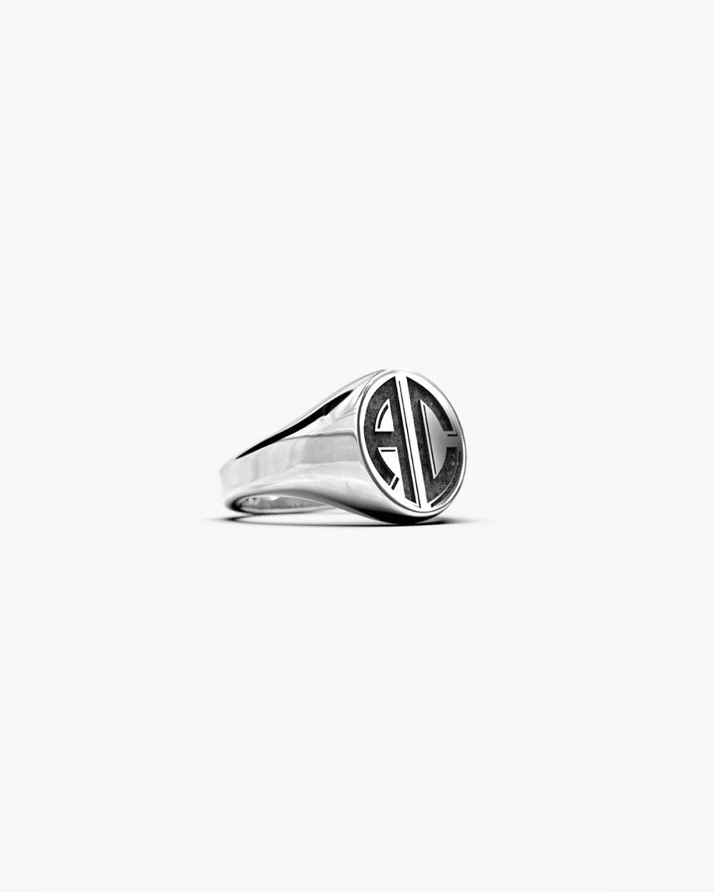 MYNOVE25 SMALL OVAL SIGNET RING NOVE25