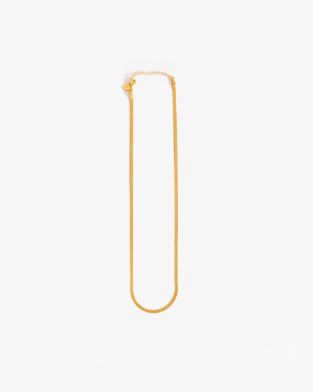 YELLOW GOLD ULTRA THIN NECKLACE