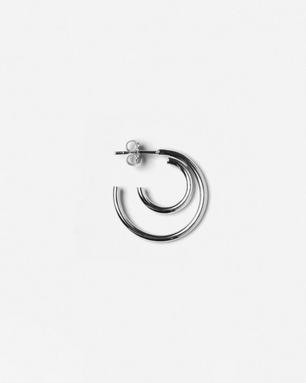 Earrings SILVER NU SINGLE EARRING NOVE25