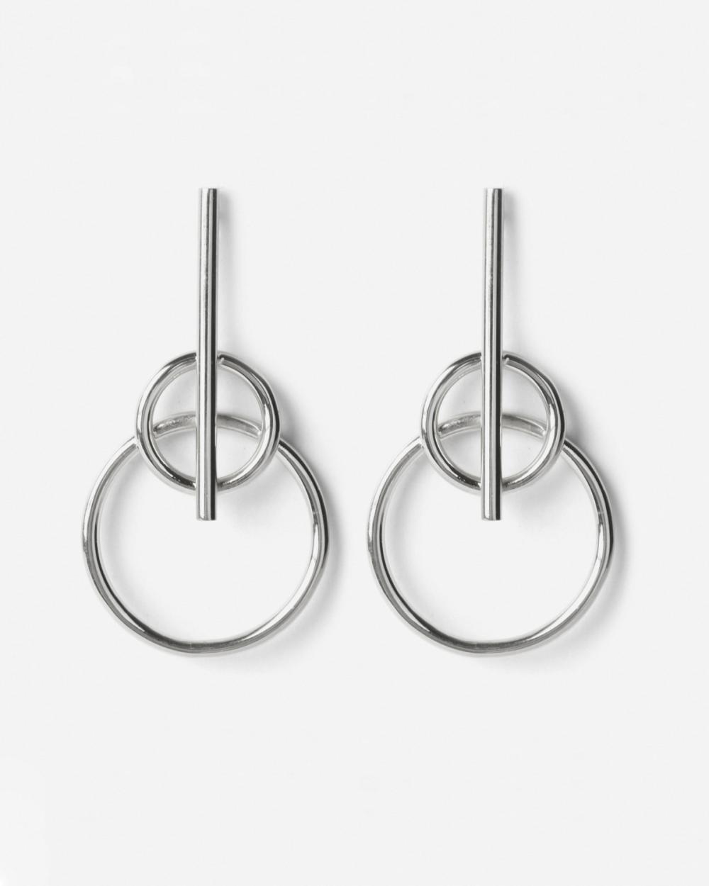Earrings SILVER MARS EARRINGS NOVE25