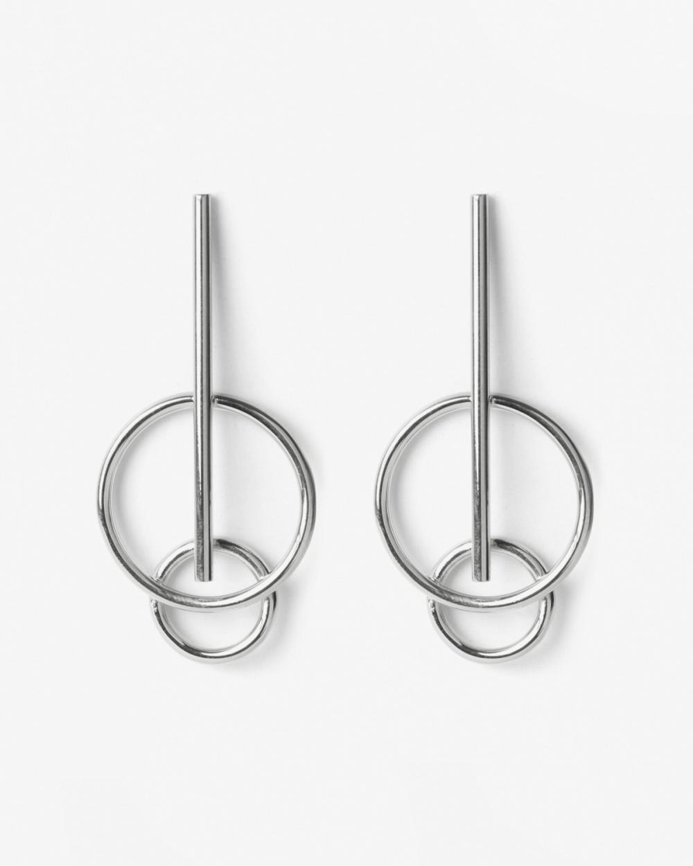 Earrings SILVER JUPITER EARRINGS NOVE25