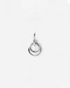 orecchino singolo tau argento
