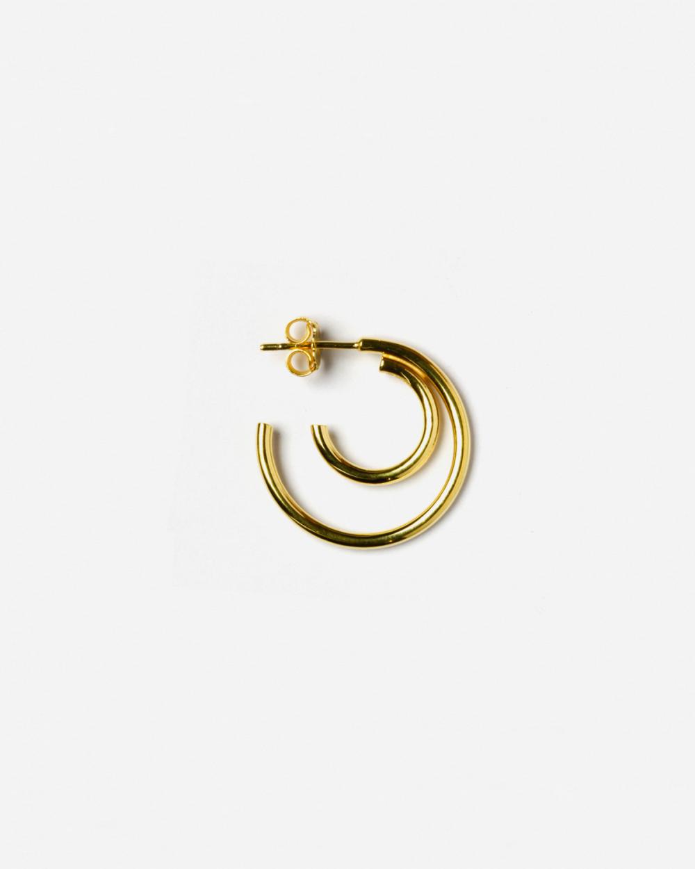 Earrings YELLOW GOLD NU SINGLE EARRING NOVE25