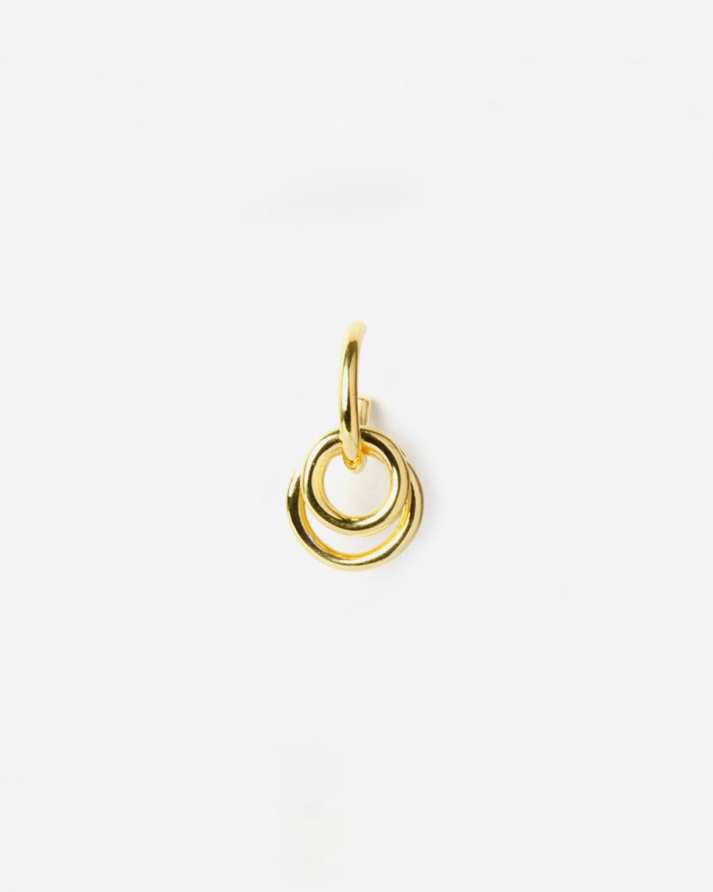 Earrings YELLOW GOLD TAU SINGLE EARRING NOVE25