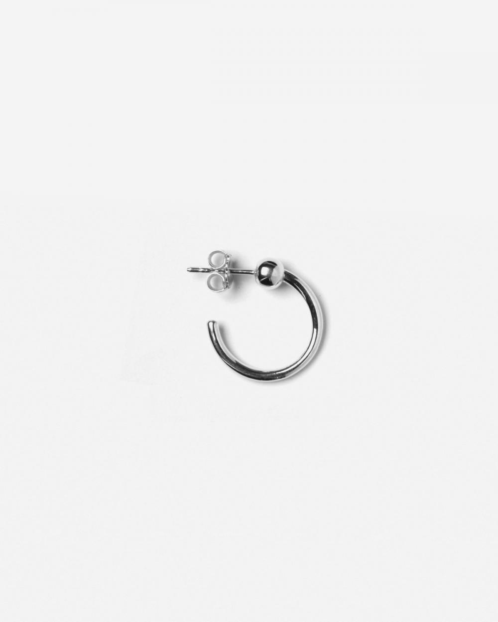 Earrings SILVER ALPHA SINGLE EARRING NOVE25