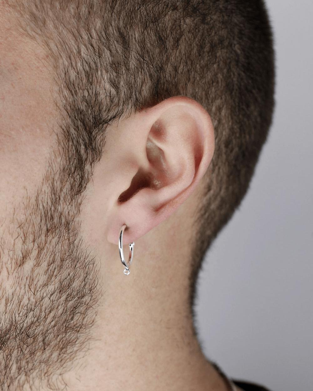 Earrings SILVER PIERCING WITH CLASP SINGLE EARRING NOVE25