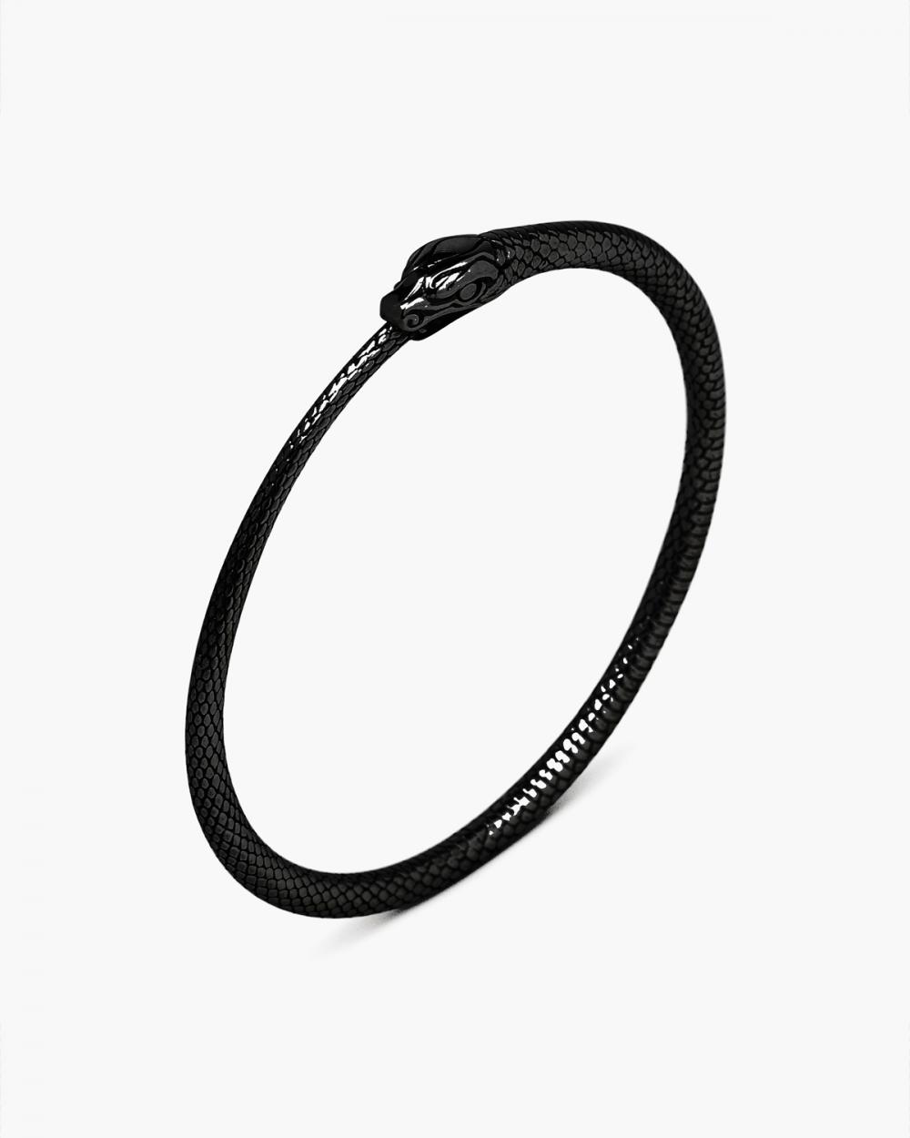 Bracelets RUTHENIUM OUROBOROS BRACELET NOVE25