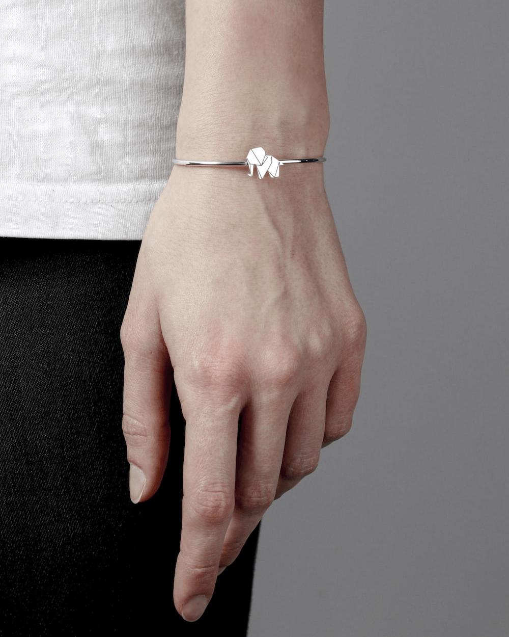 Bracelets ORIGAMI ELEPHANT BANGLE NOVE25