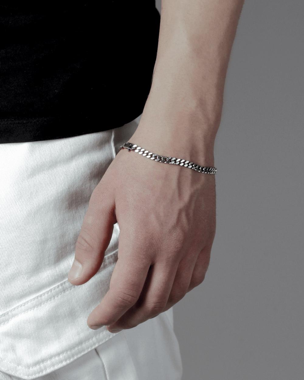 Bracelets SQUARE CURB BRACELET 150 NOVE25