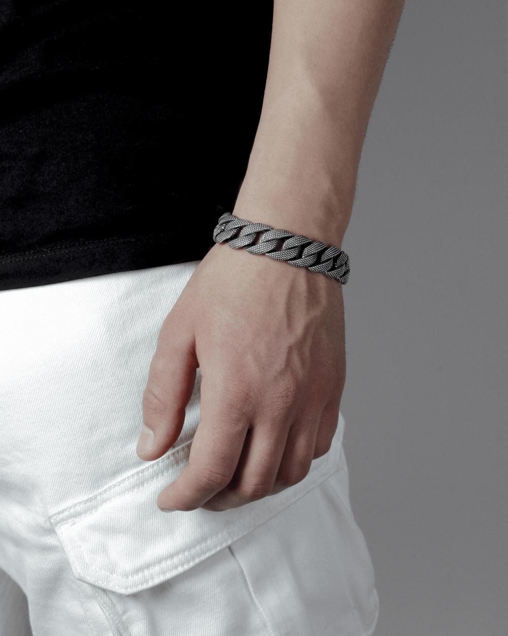 Bracelets DOTTED CURB BRACELET NOVE25