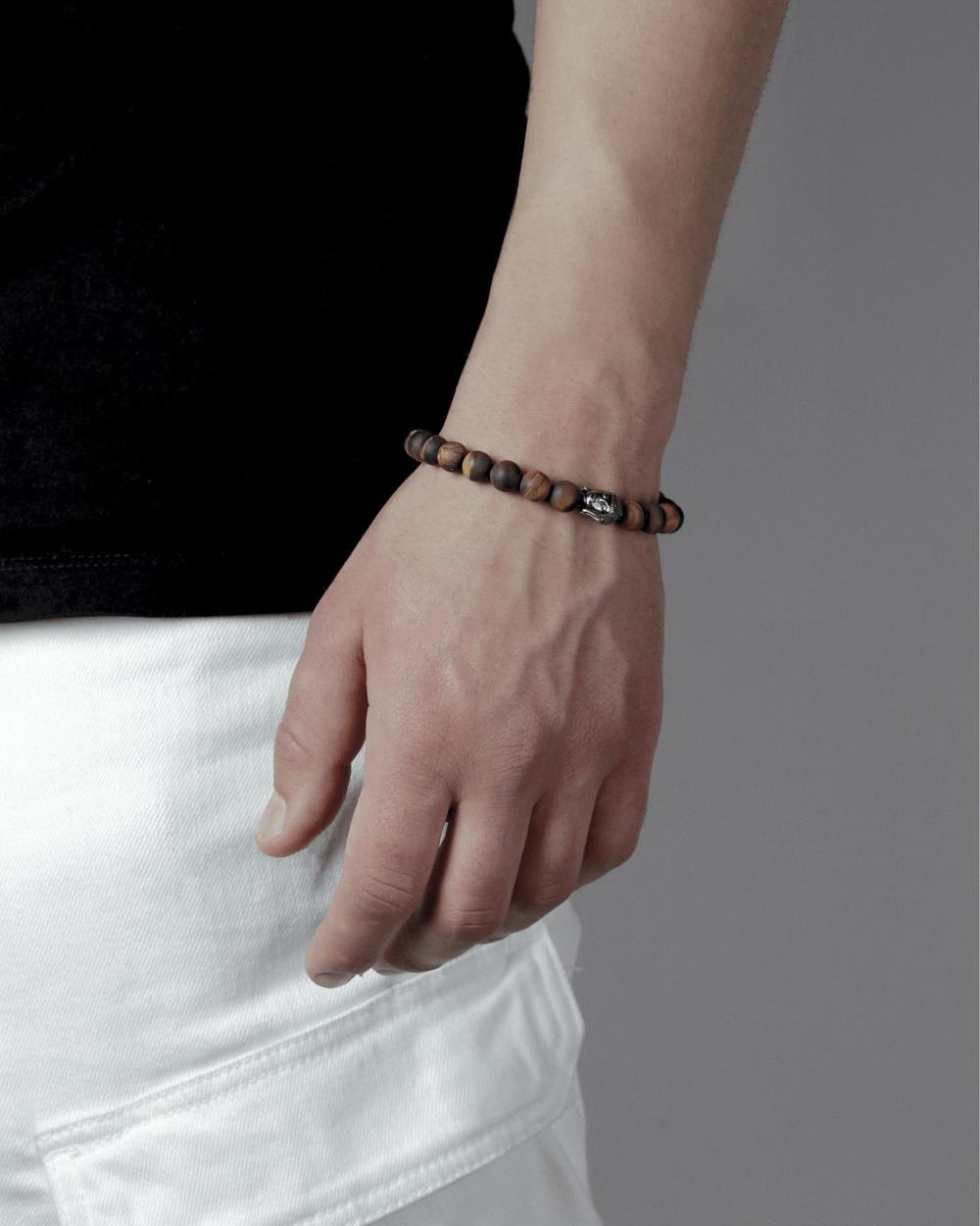 Bracelets TIGER'S EYE & BUDDHA BRACELET NOVE25