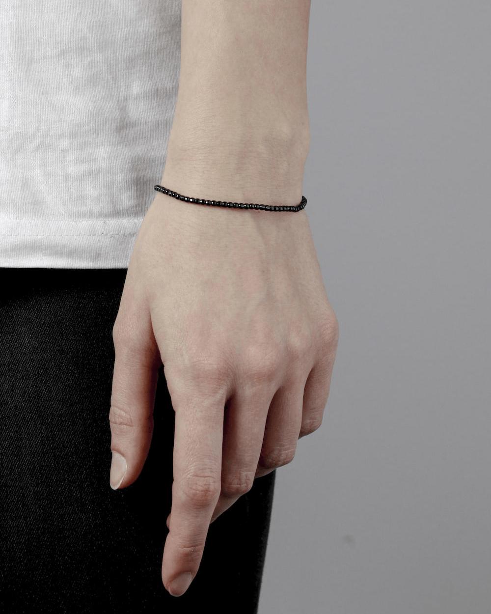 Bracelets RUTHENIUM DISCO BRACELET 300 NOVE25