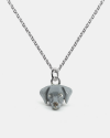 weimaraner pendant necklace f040 l60 enamelled