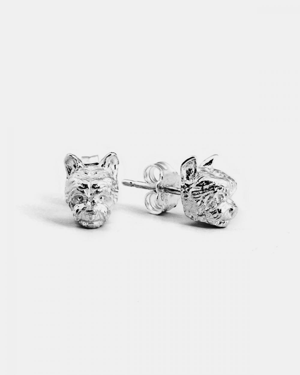 Earrings YORKSHIRE COUPLE EARRINGS / POLISHED SILVER NOVE25
