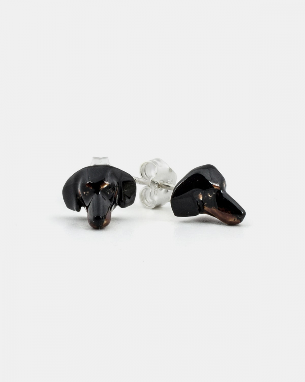 Earrings DACHSHUND COUPLE EARRINGS / ENAMELLED NOVE25