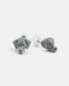 orecchini coppia weimaraner smalto