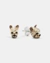 yorkshire couple earrings enamelled
