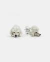 orecchini coppia barboncino smalto