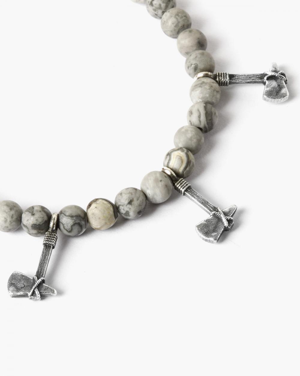 Necklaces WHITE & GREY PENDANTS NECKLACE NOVE25