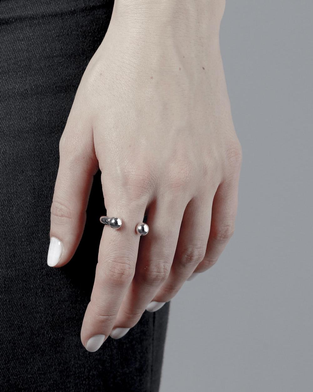 Rings PIERCING SPHERE BOLD RING NOVE25