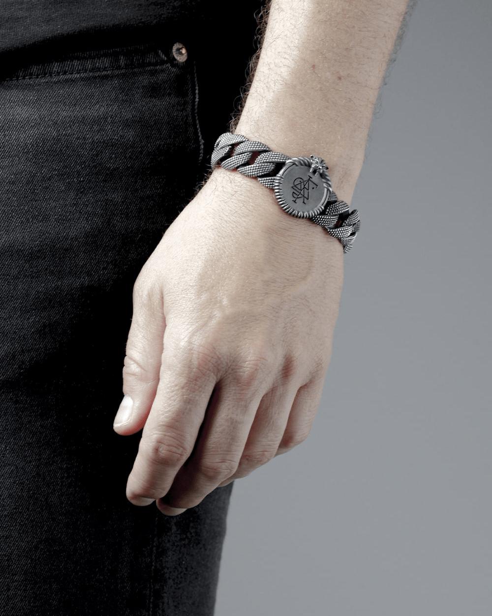 Bracelets OPHIS SAGITTARIUS CURB BRACELET NOVE25