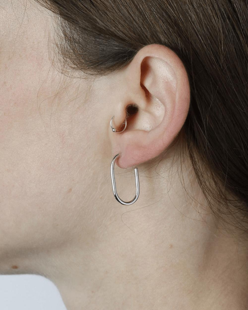 Earrings SILVER DELTA SINGLE EARRING NOVE25