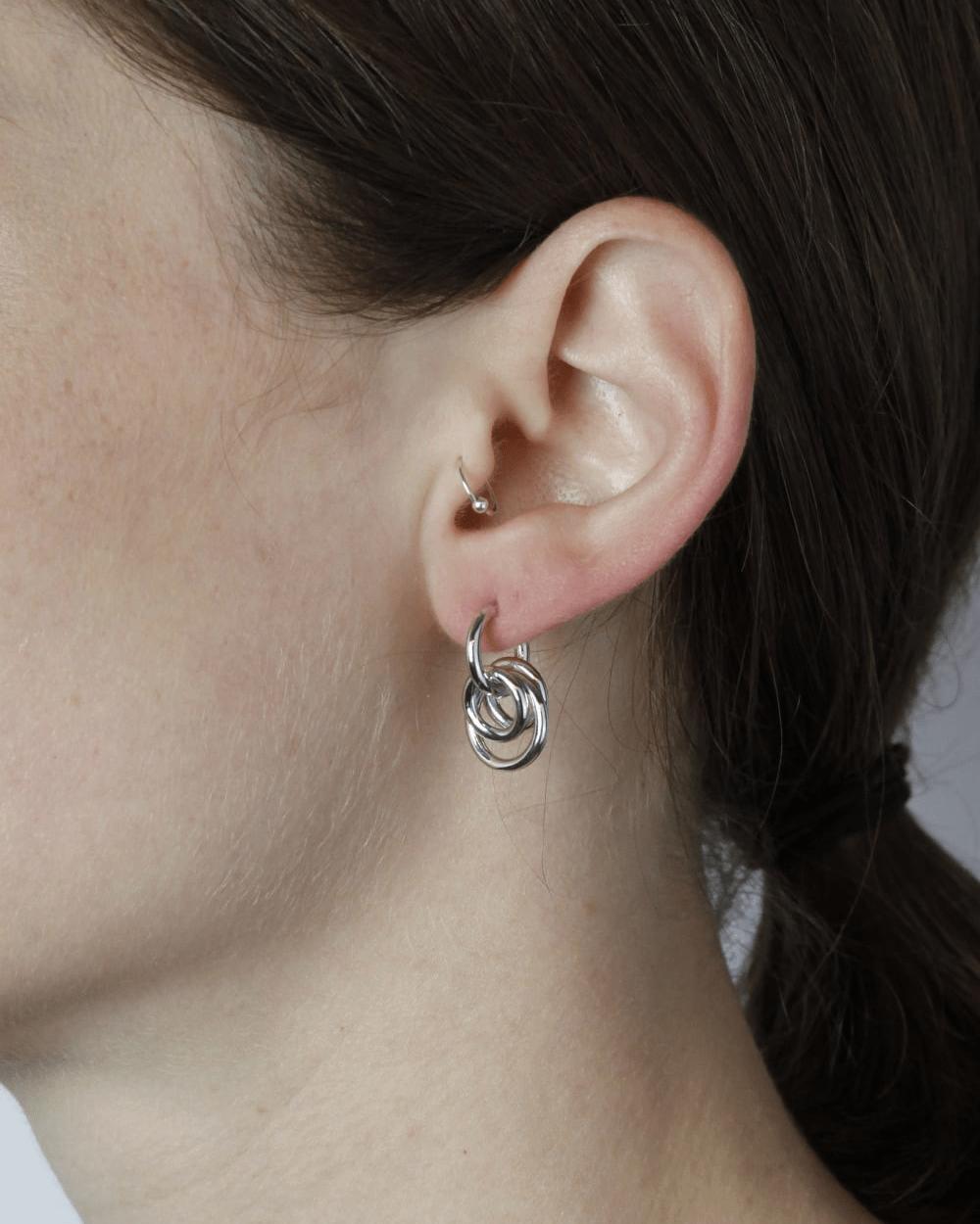 Earrings SILVER TAU SINGLE EARRING NOVE25