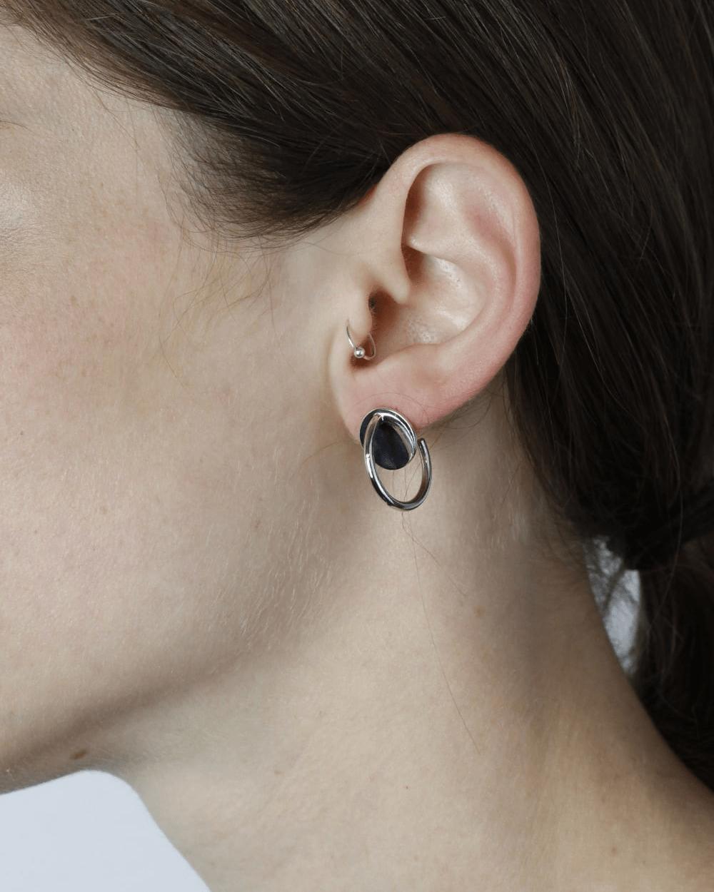 Earrings SILVER SIGMA SINGLE EARRING NOVE25