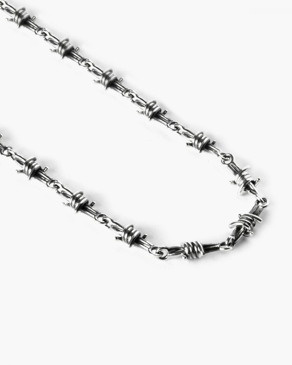 Necklaces BARBED WIRE NECKLACE NOVE25