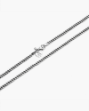 curb chain necklace 080