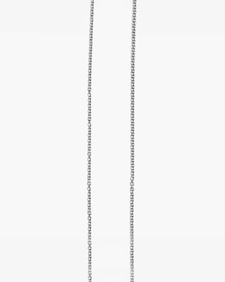 BURNISHED CABLE CHAIN NECKLACE 060