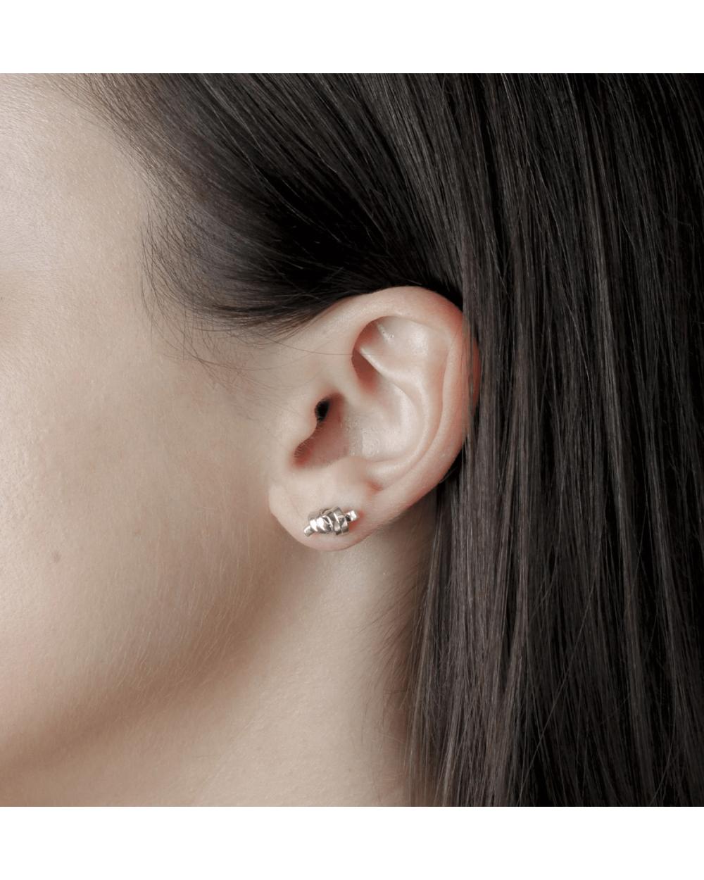 Earrings KNOT LOBE SINGLE EARRING NOVE25