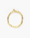 bracciale catena ovale media oro giallo