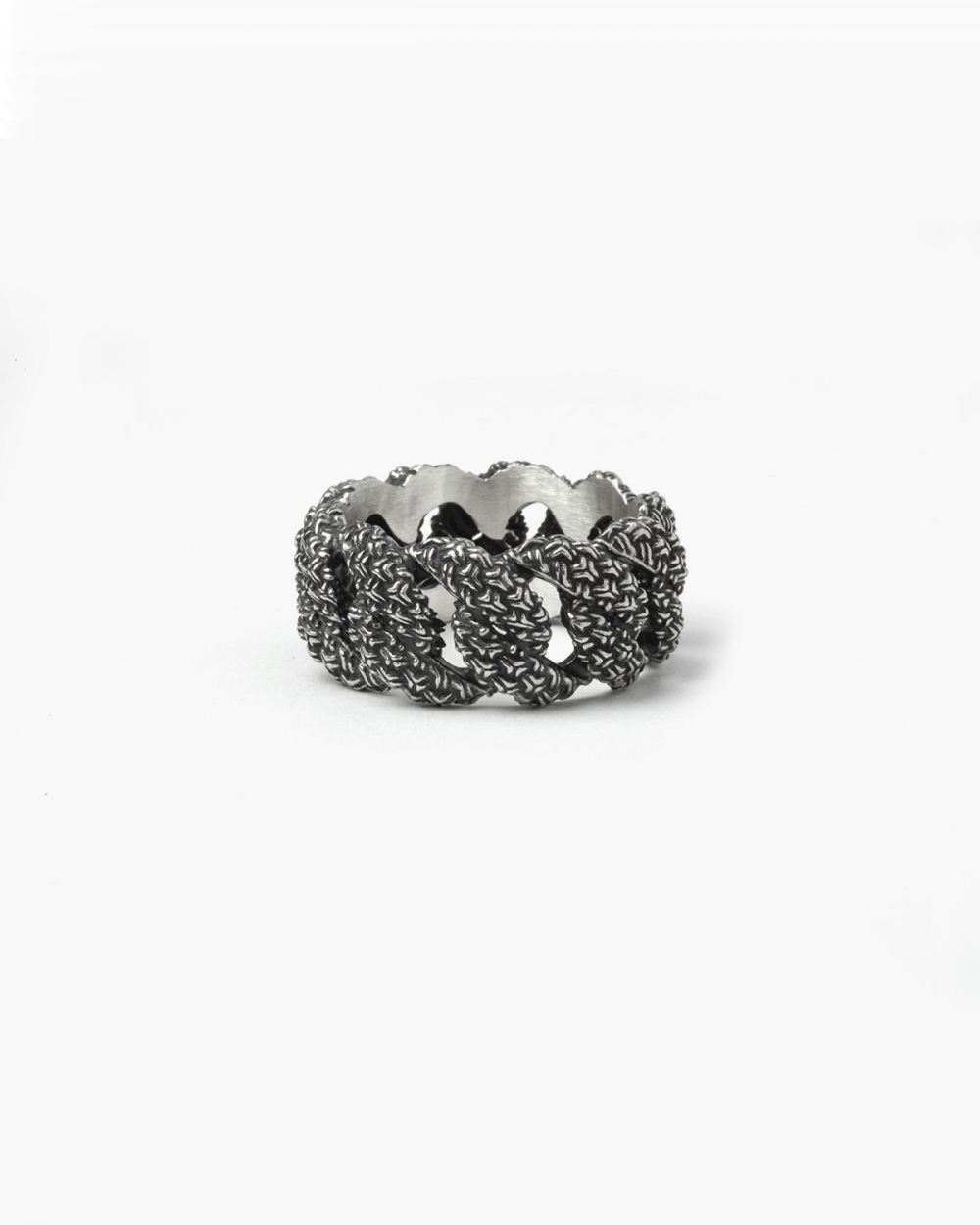 Rings 3D TEXTURE CURB RING NOVE25