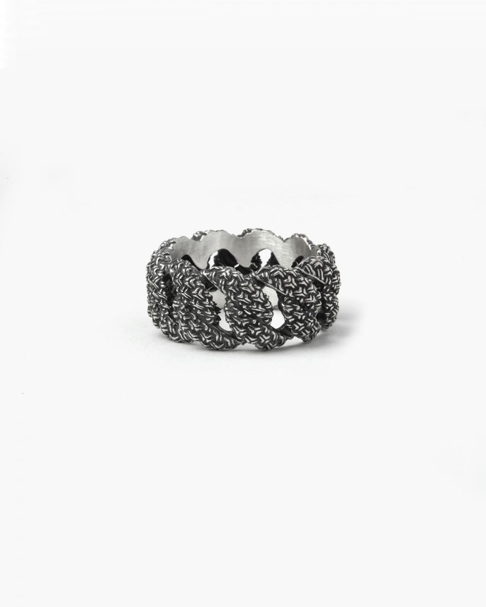 Rings 3D TEXTURE CURB RING NOVE25