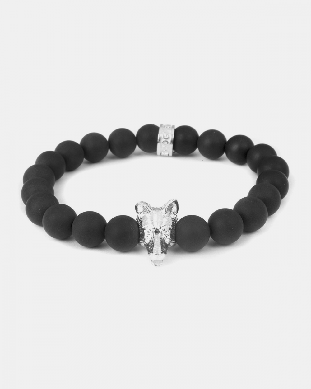 Bracelets GERMAN SHEPERD & BLACK AGATE BRACELET NOVE25
