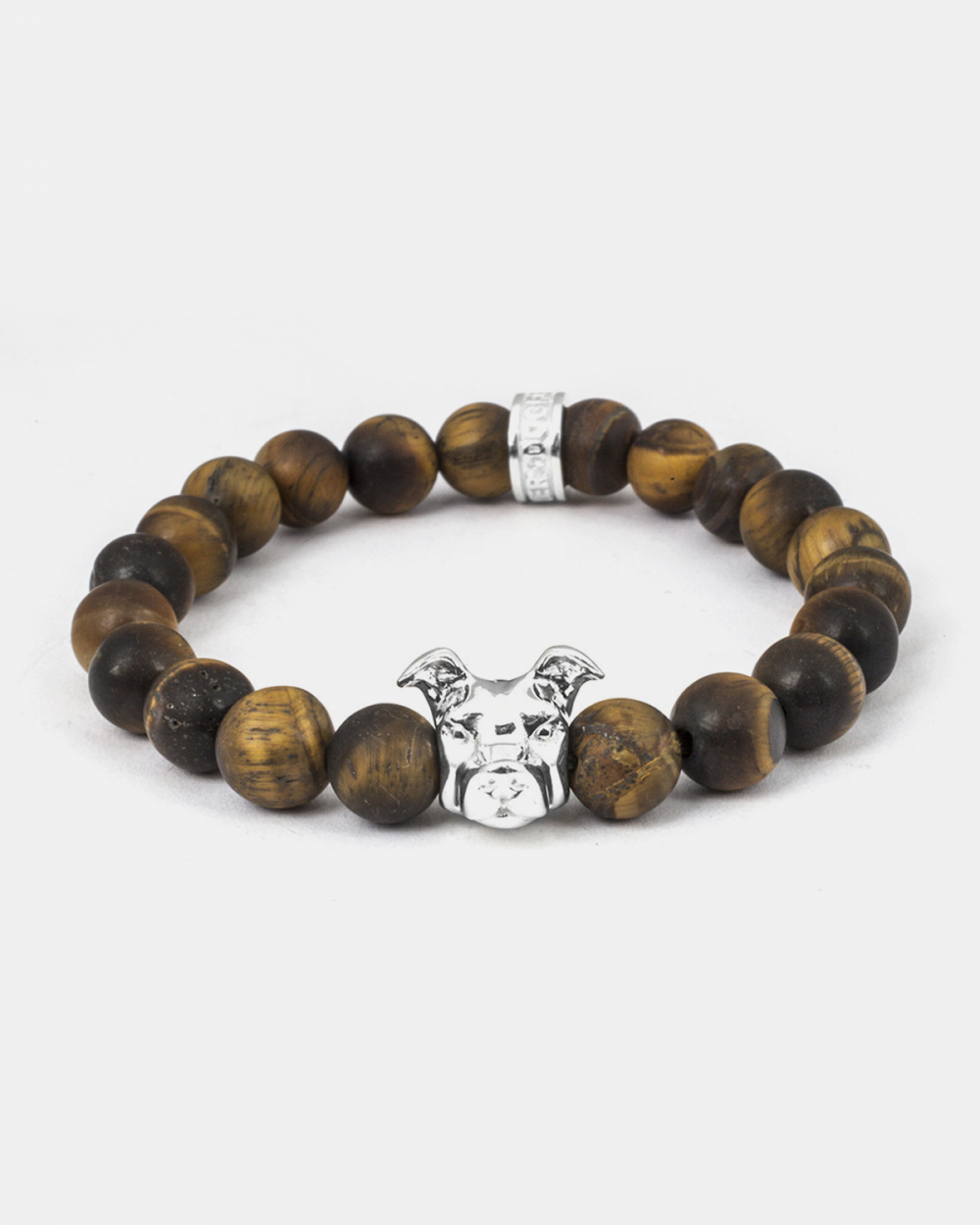 Bracelets AMERICAN STAFFORDSHIRE & TIGER'S EYE BRACELET NOVE25