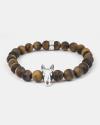 bracciale bull terrier occhio tigre 080