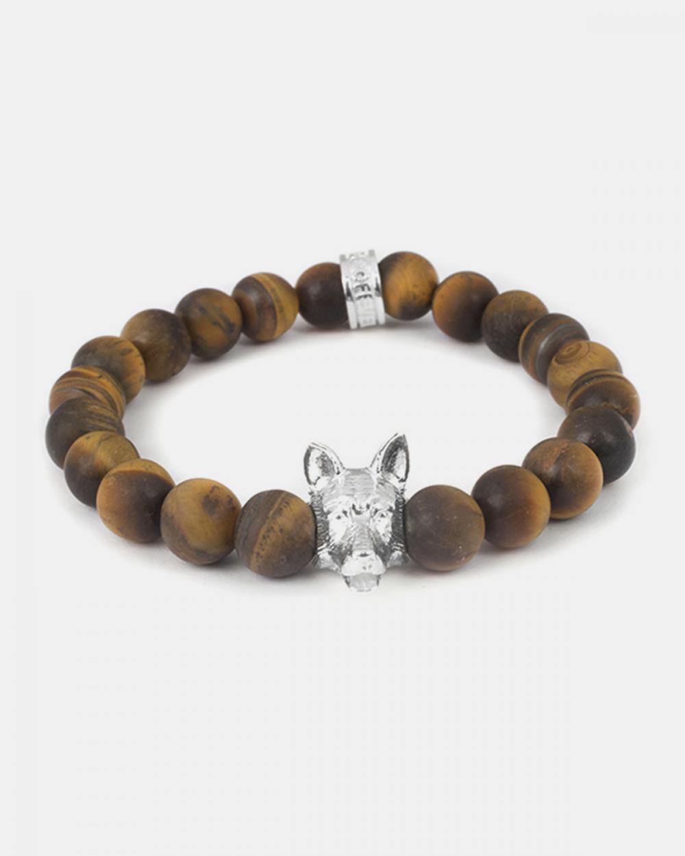Bracelets GERMAN SHEPERD & TIGER'S EYE BRACELET NOVE25