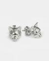 european couple earrings polished burnished finish