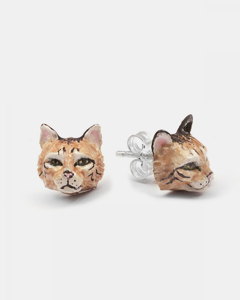 Earrings NORWEGIAN FOREST COUPLE EARRINGS / ENAMELLED NOVE25